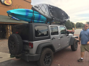 Bought our Kayaks Today