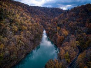 Late Fall colors in Arkansas